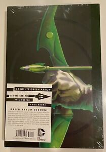 ABSOLUTE GREEN ARROW KEVIN SMITH HARDCOVER SLIPCASE (#1-15) 2015 OOP SEALED!