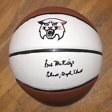 8c7be38e41d Bob Mckillop Signed Autographed Davidson Wildcats Logo Basketball Coa