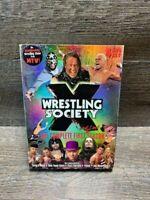 WRESTLING SOCIETY THE COMPLETE FIRST SEASON wrestling 4-DISC SET dvd