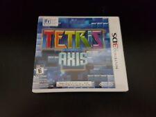 Tetris: Axis [3DS] [Nintendo 3DS] [Complete!]