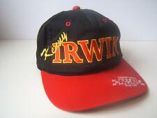 Vintage Kenny Irwin 28 Hat Red Black Nascar Racing Snapback Baseball Cap