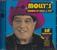 Molly's Women of Rock & Pop 2-disc CD NEW Lauper Branigan Pretenders