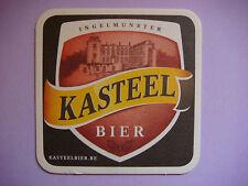Beer Coaster Bar Mat ~ KASTEEL Rouge Bier ~ Brouwerij Van Honsebrouck ~ BELGIUM
