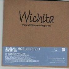 (CW163) Simian Mobile Disco, Seraphim - 2012 DJ CD