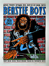 BEASTIE BOYS SEATTLE 9/19/04 MEGA RARE CONCERT POSTER HAND SIGNED PRINTERS PROOF