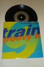 "THE FARM - Groovy Train - 1990 French 7"" vinyl single"