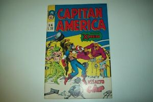 CAPITAN AMERICA N.46 15 GENNAIO 1975-ASSALTO A CAP;CONTIENE X-MEN-CORNO
