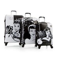 Disney Hardside Princess Expandable Spinner 3 PCS Luggage Set Cinderella Belle