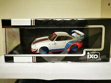 PORSCHE 911 RBW (993) 1973 COLORS WHITE/BLANCO MARTINI 1/43 IXO