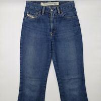 Diesel Bold W27 L32 blau Damen Designer Denim Jeans Hose Retro Vintage Mode Chic