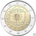 manueduc LUXEMBURGO 2015 2 Euros 30 Años Bandera de Europa UNC