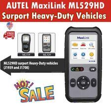 Autel Diagnostic OBD2 EOBD Code Reader Heavy Duty Truck Scan Tool For Diesel Gas