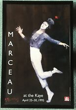 New listing Poster of Marcel Marceau at the Kay Hunter College Ny 1995