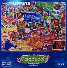 MEGA BRANDS DISNEY SCRAPBOOK JIGSAW PUZZLE MUPPETS MOST WANTED 1000 PCS