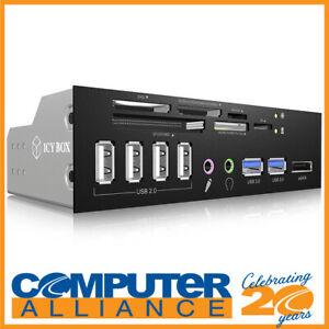 """ICY BOX IB-863-A 5.25"""" USB 3.0 Multi Card Reader"""