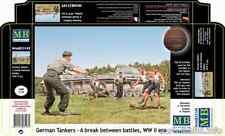 Tankistes Allemands en pause WW2 1/35 MasterBox