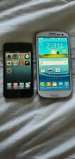 Ipod Touch 4th Gen Samsung Galaxy S3 Lot Of 2