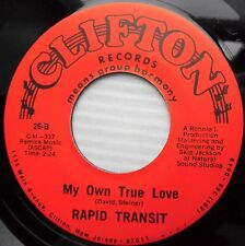 RAPID TRANSIT My own true love Living just for you NEAR-Mint DOOWOP 45 e6443