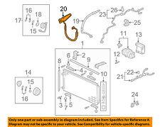 a c hoses fittings for honda ridgeline ebay rh ebay com honda ridgeline radio wiring diagram 2006 honda ridgeline ac diagram