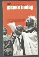 Issues Today Magazine February 19 1971 African Tribes Communal Living