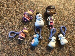 VGC Disney Channel Doc McStuffins Figure Bundle Hippo Snowman Dog Cake Decs FAB