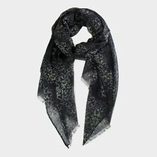 Black and Green Shamrock Scarf