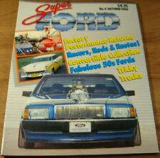 1988.SUPER FORD No 4.Falcon XC Hardtop XM XY Convertible XD Customline UTE.Cobra