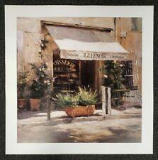Print Cafe De Provence Leonard Wren Sidewalk Cafe Paris Street Scene Open Ed