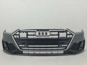 Audi A7 4K8 S-line 2017- Stoßstange vorne front bumper 4K8807437 4pdc