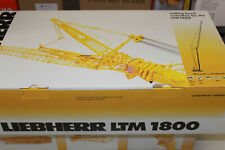 Ycc 771 Gittermastspitze For Ltm 1800 Liebherr Mobile Crane 1:50 New IN Boxed