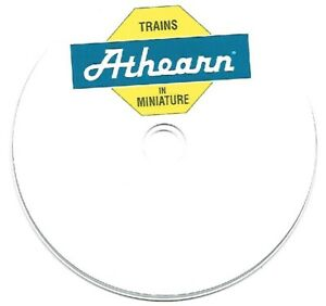 ATHEARN ASSEMBLY INSTRUCTIONS & PARTS LISTS on CD