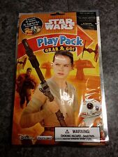 """""""THE FORCE AWAKENS"""" STAR WARS Grab & Go Play Pack Disney Stickers, Crayons, Book"""