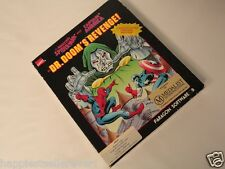 Complete Commodore Amiga Dr Doom Spiderman Video Game Computer System