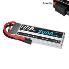 5000mAh 2S 7.4V 50C Lipo Battery Traxxas E-revo Slash SC10 SAVAGE FLUX E-MAXX