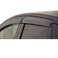 4pcs Smoke Sun//Rain Guard Vent Shade Window Visors Fit 00-04 Frontier Crew Cab