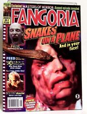 """""""FANGORIA"""" Magazine Issue #255 (Aug, 2006) SNAKES ON A PLANE, THE DESCENT, FEED"""