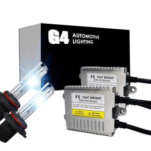 G4 AUTOMOTIVE 9005 Premium HID XENON Kit AC 55W High Power Headlight All Color