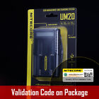 NITECORE UM20 USB Digi charger 18650 18490 14500 18350 16340 Li-ion IMR