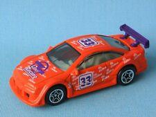 Matchbox Opel Calibra DTM Vauxhall Orange Body 33 Racing Toy Model Car UB 70mm