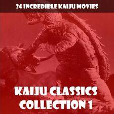 KAIJU CLASSICS 1 🎬 24 CLASSICS WITH GAMERA, GORGO, DAIMAJIN AND MORE 📽️