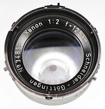 Schneider 12.5cm f2 Xenon Aerial Lens #34819