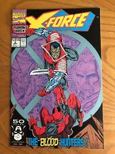 X-FORCE #2. 1991. SECOND APPEARANCE OF DEADPOOL