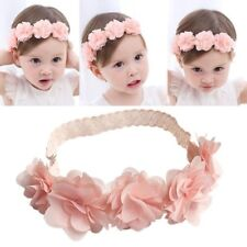 Cute Lace Elastic Flower Kids Baby Girl Toddler Headband Hair Band Headwear  L
