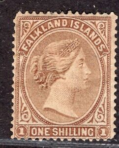 FALKLAND ISLANDS 1879 STAMP Sc. # 4 MH