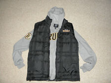 NHL GIII Boston Bruins Hoodie Mens M Medium Sweatshirt Puffy Vest by Carl Banks