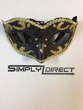 Venetian gold Filigree Masquerade Ball Mask Party Fancy Dress Christmas