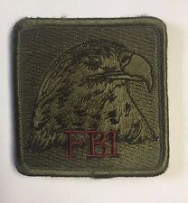 FBI Federal Bureau of Investigation Square Cloth Patch