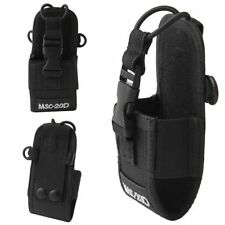 For Baofeng Motorola Kenwood Radio Portable Nylon Pouch Holster Bag Case MSC-20D