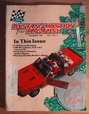 MUSTANG MONTHLY 1980 DEC - MUSTANG STATION WAGON