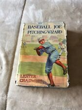 Baseball Joe Pitching Wizard Book Lester Chadwick 1928